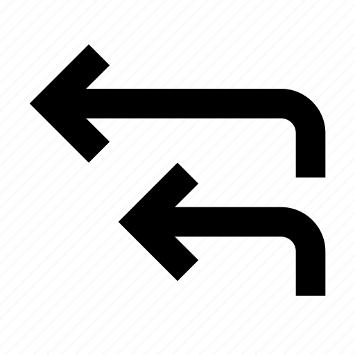 all, arrow, forward, reply icon