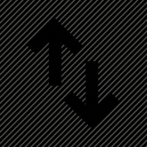 exchange, transfer icon