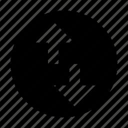 arrow, exchange, sort, sorting icon