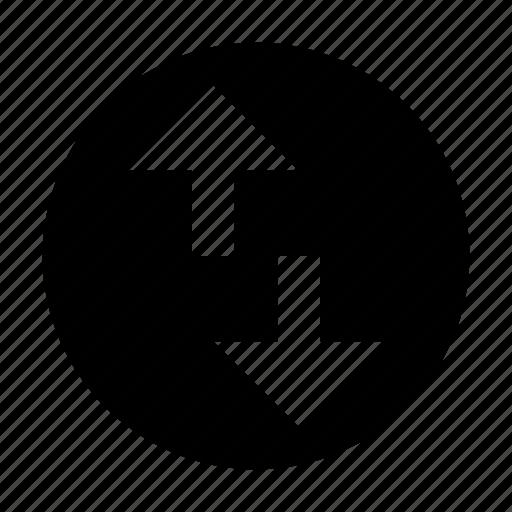 arrows, exchange, swap icon