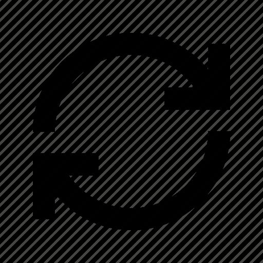 arrow, refresh, reload, sync, synchronization icon