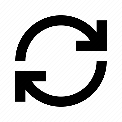 refresh, sync icon