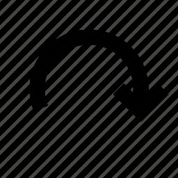 arrow, forward, redo, rotate icon