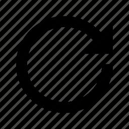 arrow, redo, refresh, reload, rotate icon