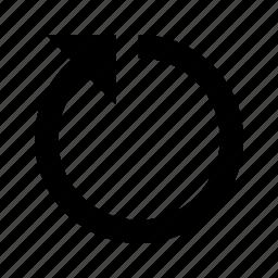 arrow, forward, redo, refresh, reload, rotate icon