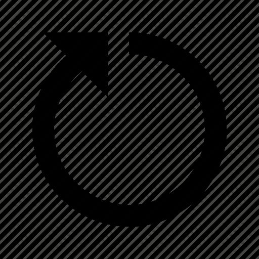 progress, refresh, rotate icon