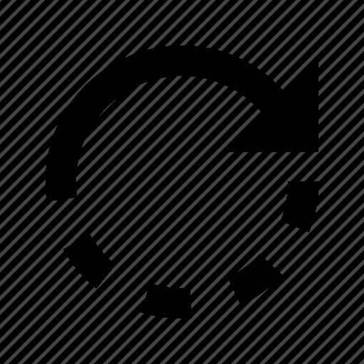 arrow, backup, forward, redo, refresh, rotate icon
