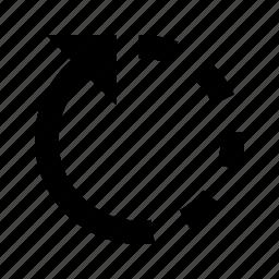 arrow, forward, redo, refresh, rotate icon
