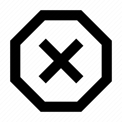 android, delete, material, remove, stop icon