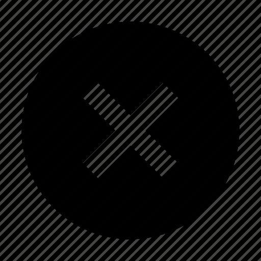 Close, delete, round icon - Download on Iconfinder