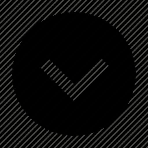 arrow, down, show icon