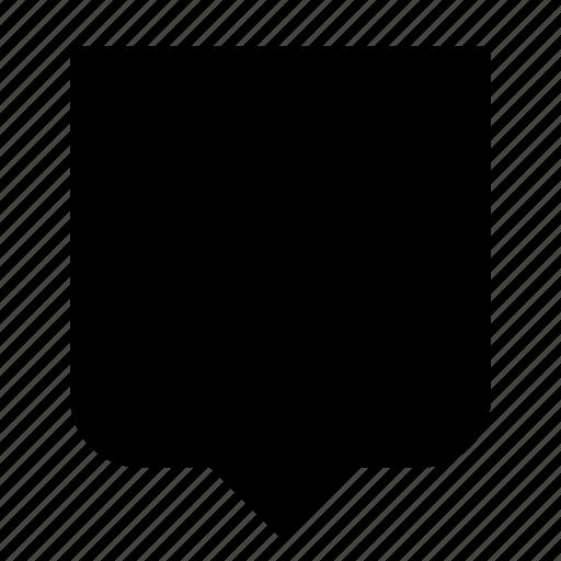 badge, bubble, insignia, shape icon