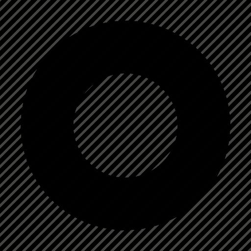 badge, torus icon