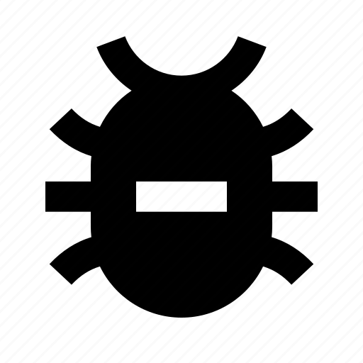 bug, error, insect icon