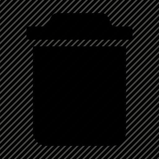 box, delete, recycle, trash icon