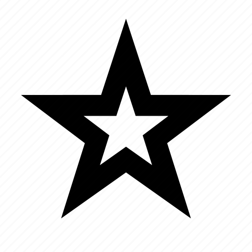 half, outline, rate, star, vote icon