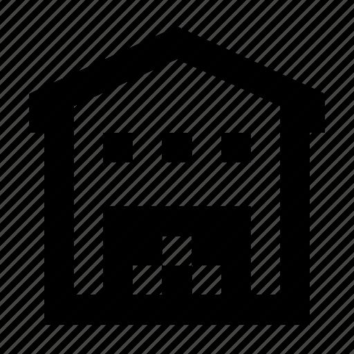 full, storage, warehouse icon