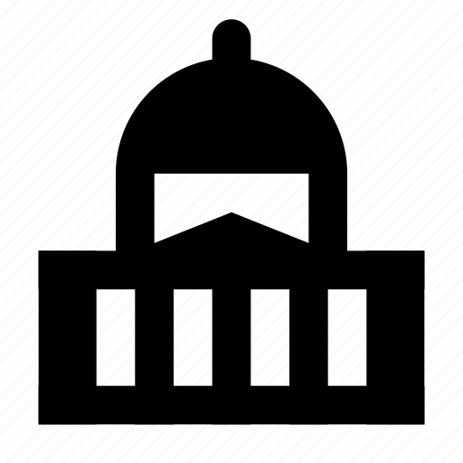 administration, building, government, office icon