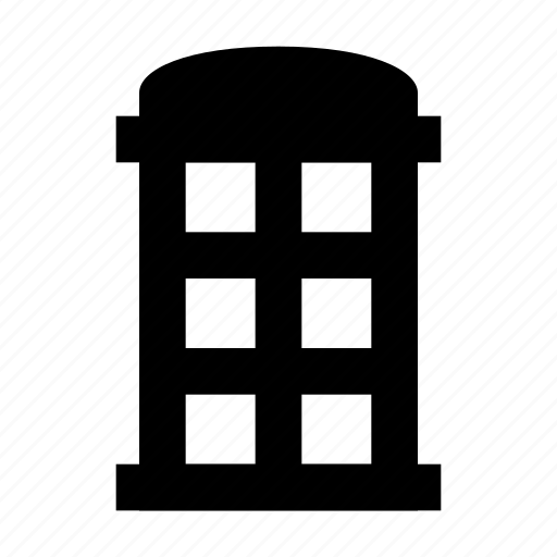 booth, building, call, phone, telephone icon