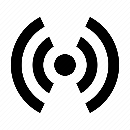 antenna, radio, waves icon