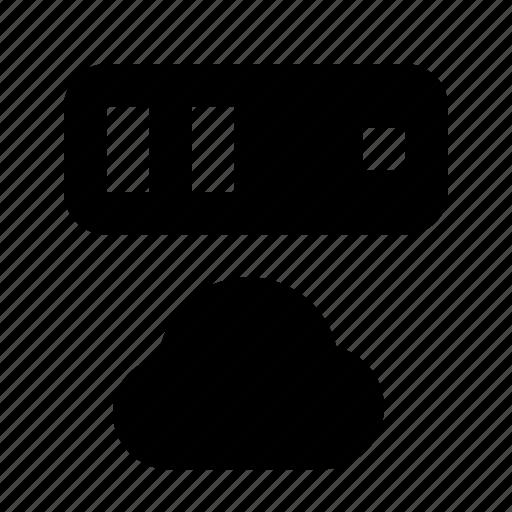 cloud, server icon