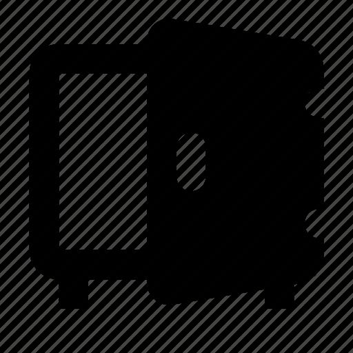 deposit, open, safe icon