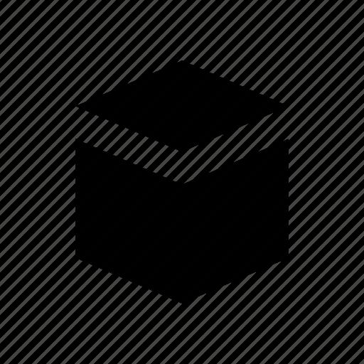box, cargo, crate icon