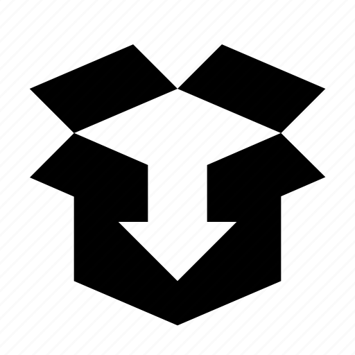 box, install, product, unpack icon