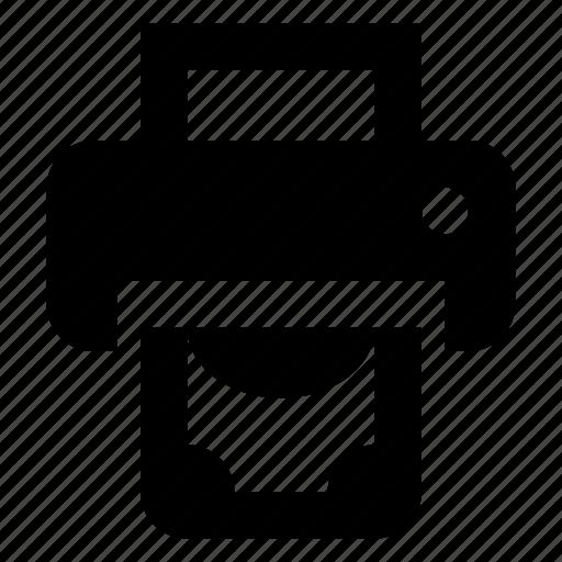 finance, money, print icon
