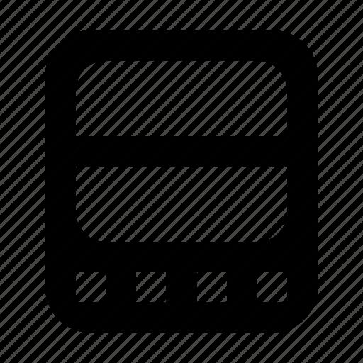 line, oscilloscope icon