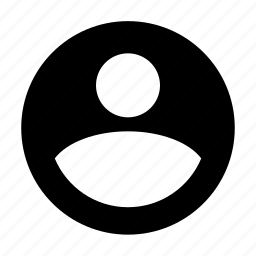 account, andorid, circle, material, profile icon