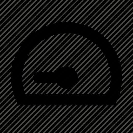 dash, gauge, speed icon