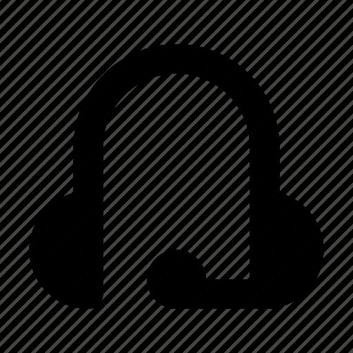 audio, headphones, headset, music, sound, support icon
