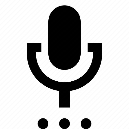 audio, broadcast, mic, microphone, options, record, settings icon
