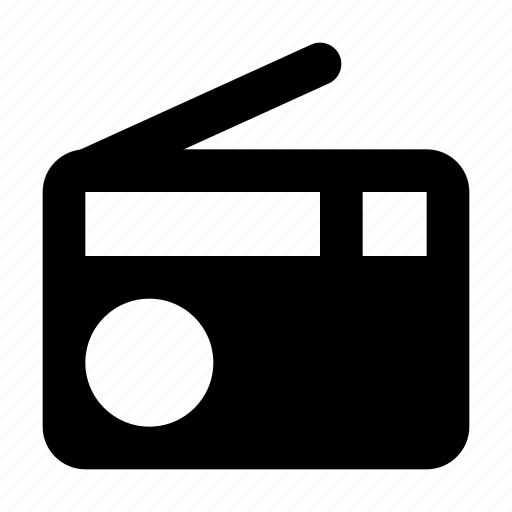device, equipment, material, music, radio icon