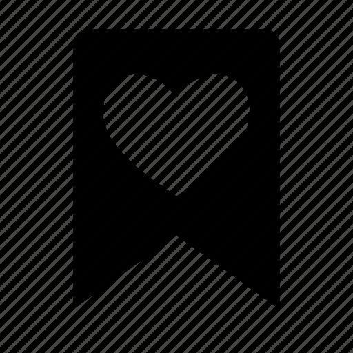 bookmark, favorite, favourite, link, love, mark icon