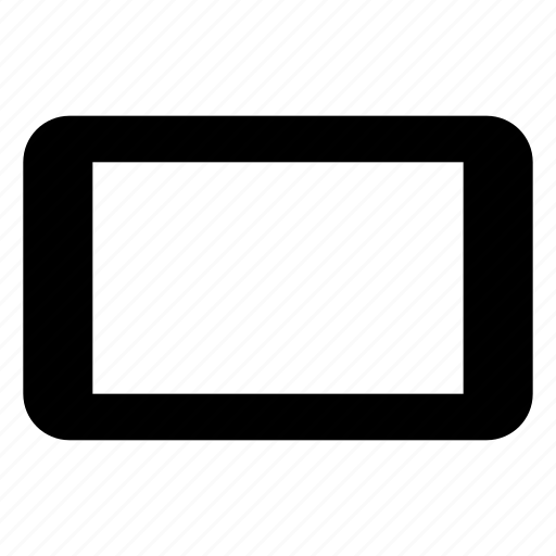 contact, device, horizontal, landscape, mobile, phone, smartphone icon