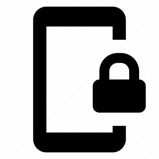 iphone, lock, locked, mobile, phone, smartphone icon