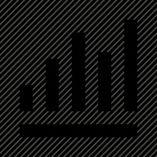 analytics, finance, trend icon