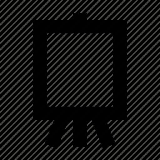 art board, artist, easel icon