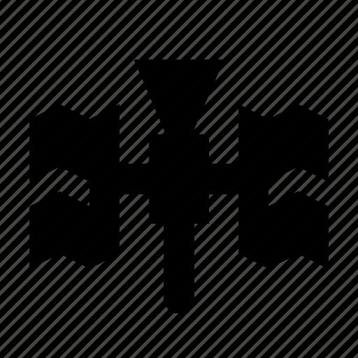 gps, iss, satellite icon