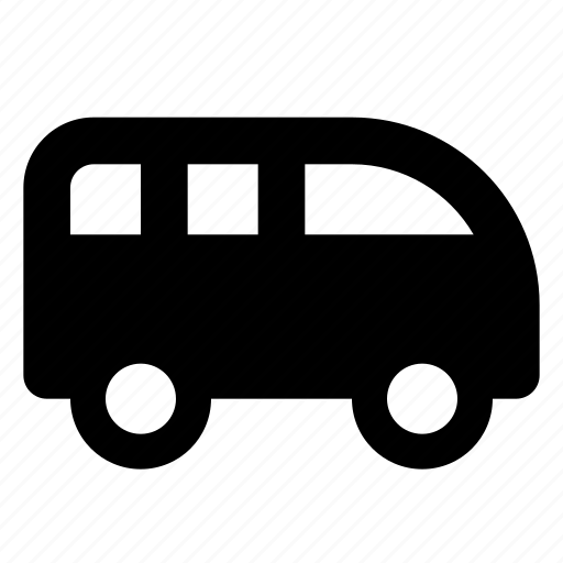 car, combi, van icon