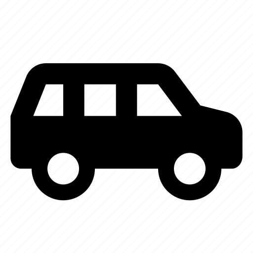 car, combi, hatchback, transport icon