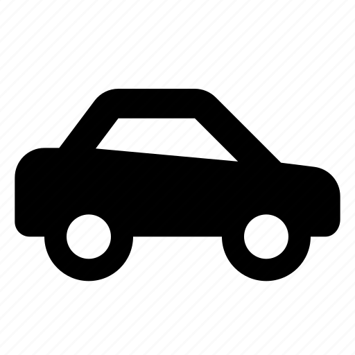 android, car, compact, material, passenger, transport icon