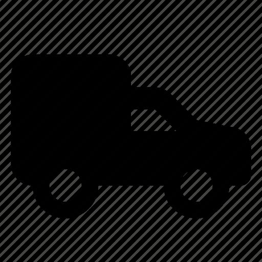 car, delivery, transport, van icon