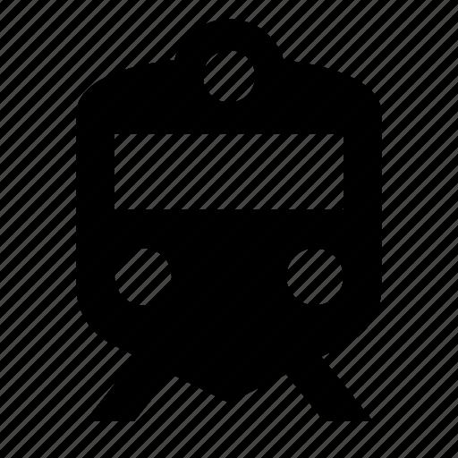 railway, sign, suburban, train icon