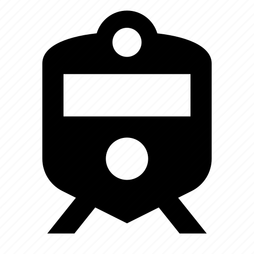 android, material, railway, sign, suburban, train icon