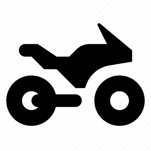 motobike, motorcycle, transport icon