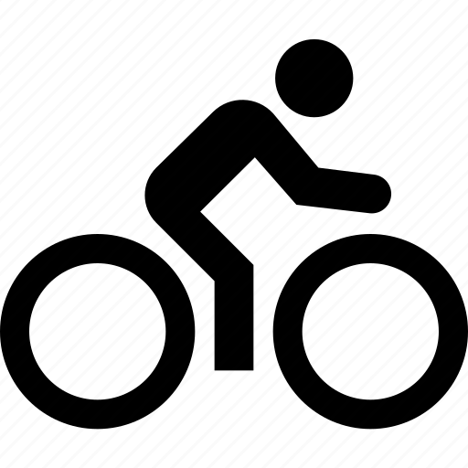 bicycle, human, man, sport, sportsman, transport icon