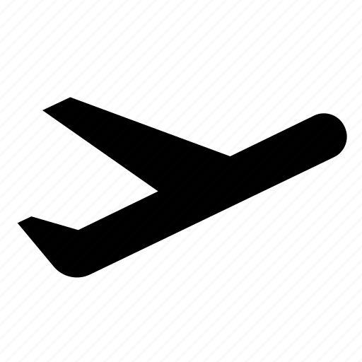 airport, fly, plane, takeoff icon